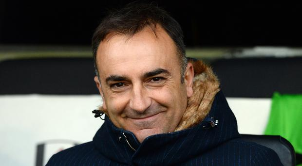 New Swansea manager Carlos Carvalhal.