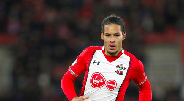 Virgil van Dijk will officially join Liverpool from Southampton on January 1.
