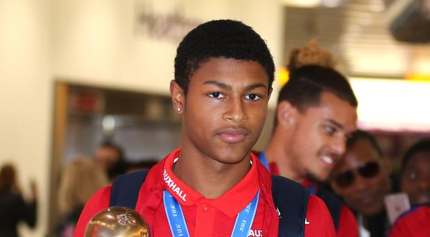 Rhian Brewster has raised accusations of alleged racist abuse