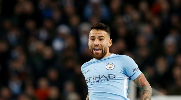 Manchester City boss Pep Guardiola has praised defender Nicolas Otamendi