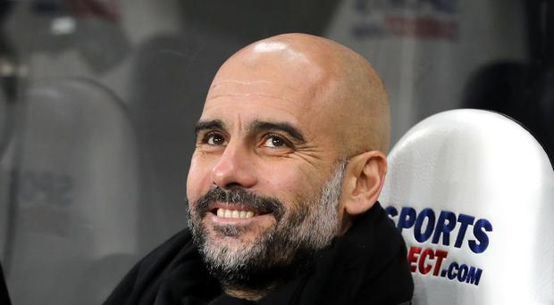 Manchester City manager Pep Guardiola can equal his own record of 19 successive league wins