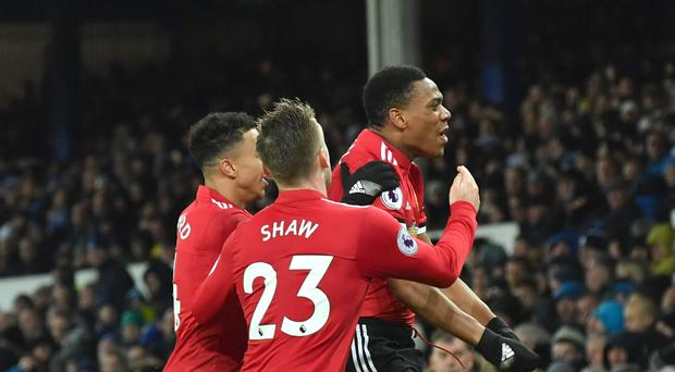 Anthony Martial broke the deadlock in the 57th minute