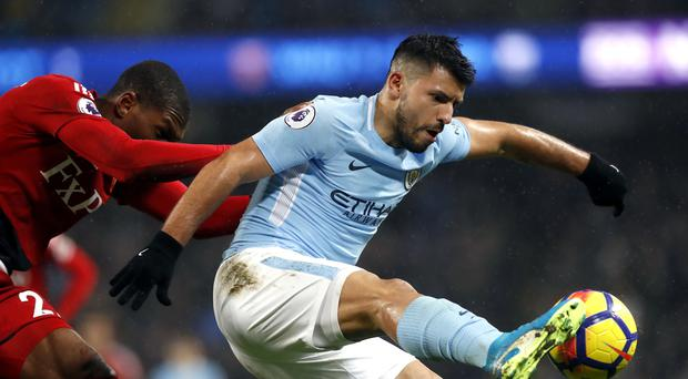 Manchester City's record goalscorer Sergio Aguero is keen to stay at the Etihad Stadium