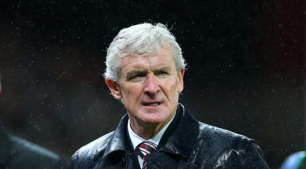 Stoke manager Mark Hughes is under growing pressure after defeat to Newcastle on Monday