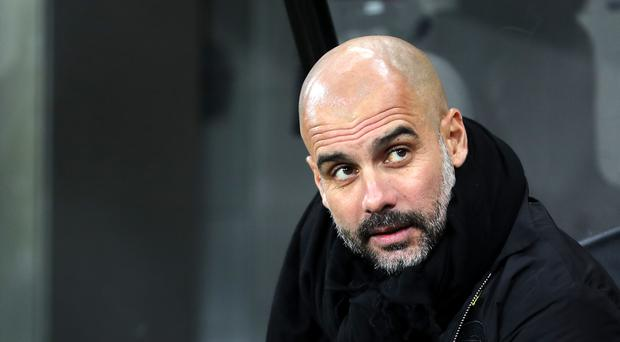 Pep Guardiola has labelled the hectic festive fixture schedule a