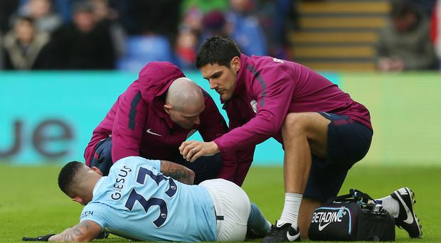 Manchester City lost Gabriel Jesus to injury over the festive period