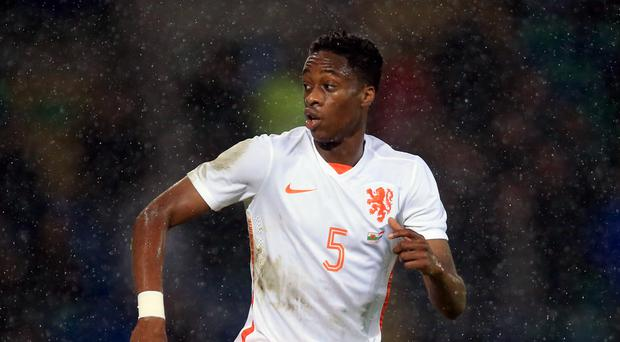 Terence Kongolo featured for Holland at the 2014 World Cup