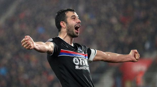 Luka Milivojevic scored the winner at Southampton on Tuesday