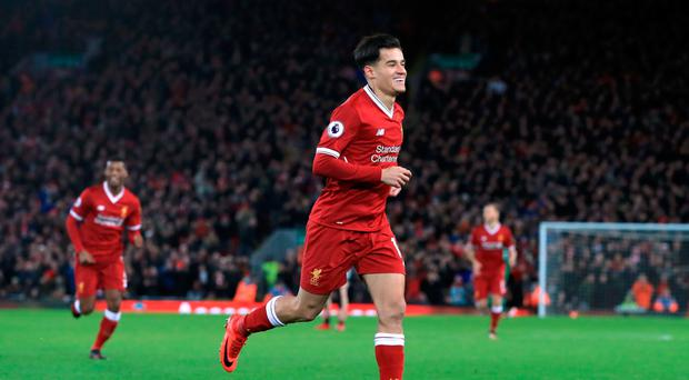 Wanted man: Philippe Coutinho is in form and in demand