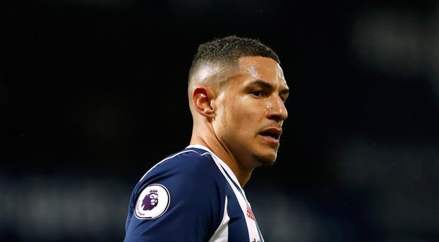 West Bromwich midfielder Jake Livermore was involved in an altercation with a West Ham supporter during Tuesday night's Premier League match at London Stadium