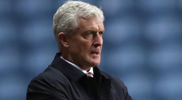 Mark Hughes has been sacked by Stoke