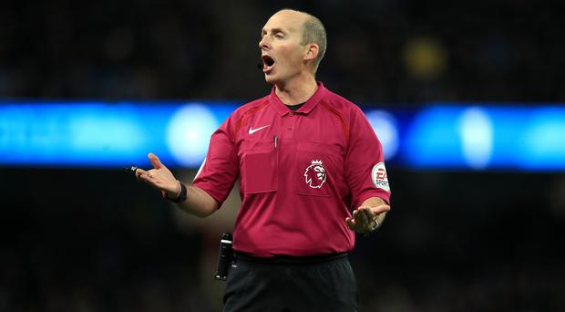 Mike Dean awarded a controversial penalty in Arsenal's clash at West Brom