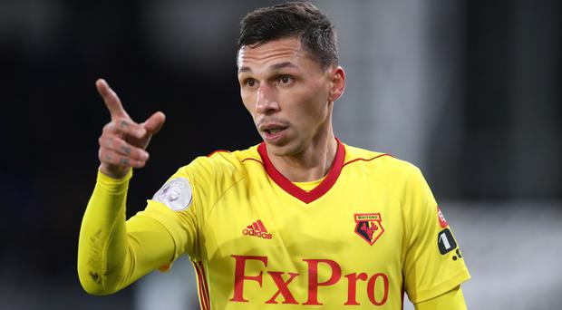 Jose Holebas has been a regular for Watford this season