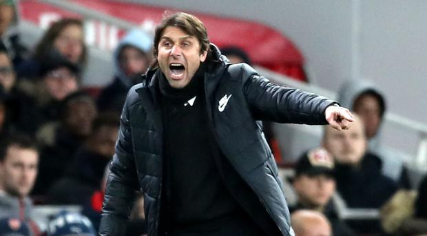 Chelsea manager Antonio Conte, pictured, has rejected outside help in his war of words with Jose Mourinho