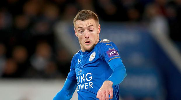 Leicester's Jamie Vardy is fit after missing the game against Fleetwood with a groin injury.