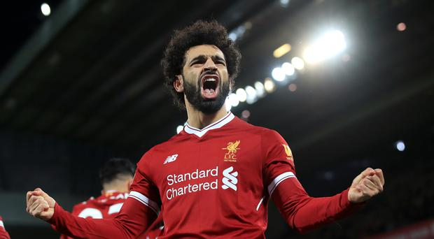 Mohamed Salah has scored 17 Premier League goals this season