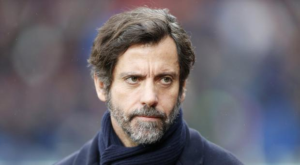 Stoke managerial target Quique Sanchez Flores says he is happy at Espanyol