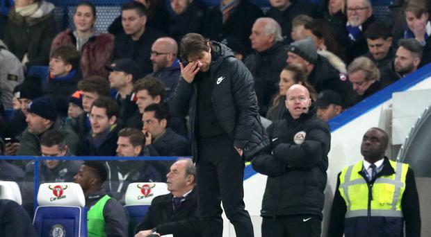 Conte calls for Chelsea patience with Morata and Batshuayi