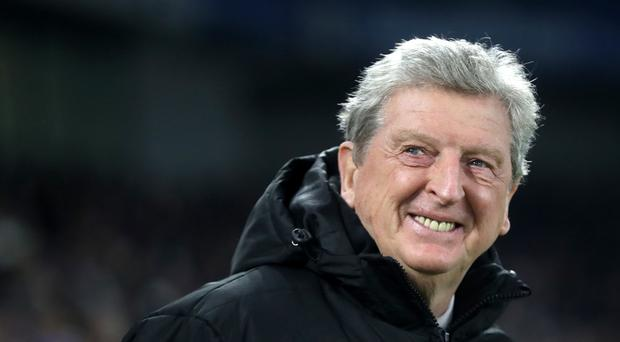 Roy Hodgson cut a relieved figure after Crystal Palace beat Burnley