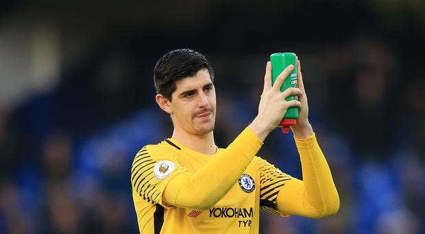 Goalkeeper Thibaut Courtois has called for Chelsea supporters to stop
