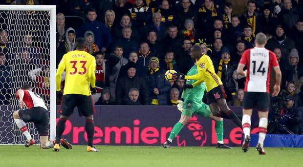 Abdoulaye Doucoure's handball was missed by the officials