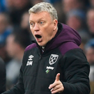 Double century: David Moyes has bossed 200 EPL game