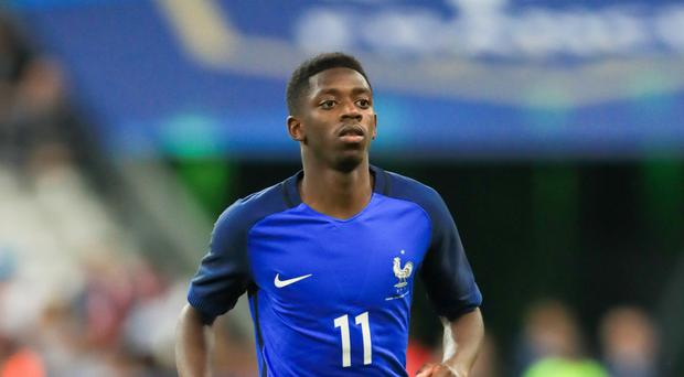 Barcelona and France winger Ousmane Dembele, who was said to be interesting Arsenal briefly on deadline day.