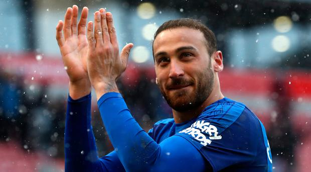 Run of form: Cenk Tosun