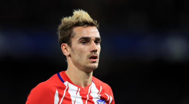 Atletico Madrid's Antoine Griezmann has been linked with a move away from the Spanish giants (Adam Davy/Empics)