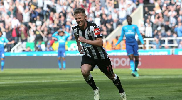 Newcastle move 13 points clear of bottom three with win over Arsenal