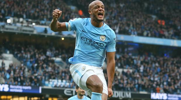 Vincent Kompany has won another title at City