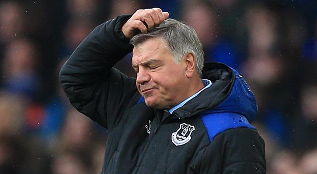 Everton fans have been asked to give their view on Sam Allardyce