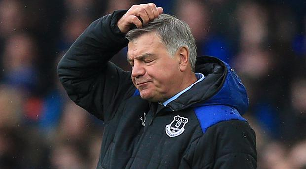 Fans have been asked to rate Everton manager Sam Allardyce out of 10 in a questionnaire