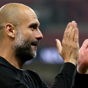 Pep Guardiola has paid tribute to club staff following the Premier League title win