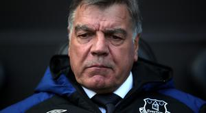 Sam Allardyce was not impressed by Everton's survey asking fans to rate him
