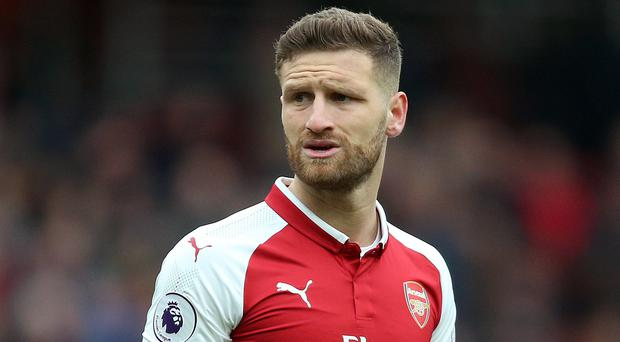 Shkodran Mustafi has been criticised this season