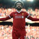 Mohamed Salah and his Liverpool team-mates will play in Dublin this summer.