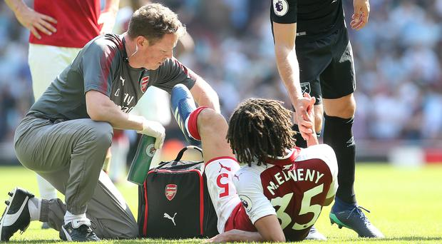 Mohamed Elneny Out for 3 Weeks After Ankle Injury During Arsenal vs