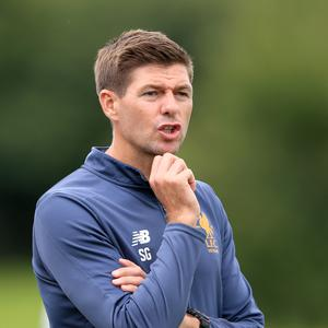 Steven Gerrard is currently in charge of Liverpool's U18 team.
