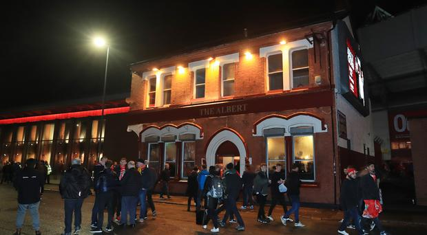 Sean Cox was attacked near a pub outside Anfield