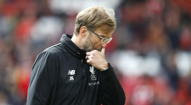 Liverpool manager Jurgen Klopp felt they missed out on some refereeing decisions in the goalless draw at home to Stoke.
