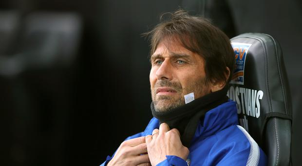 Manager Antonio Conte has blamed the lack of goals for Chelsea's Premier League results this season