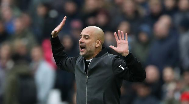 Pep Guardiola has challenged Manchester City to carry on breaking records