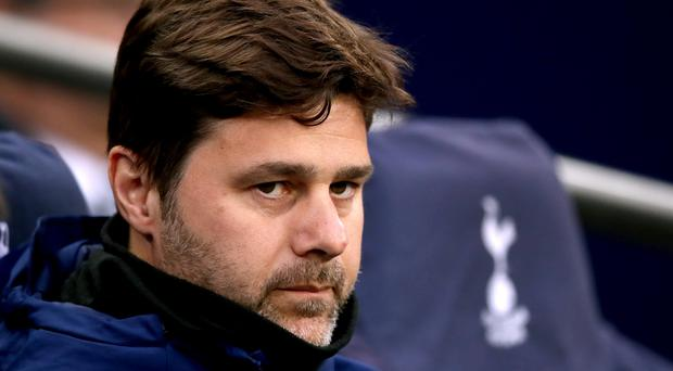 Mauricio Pochettino, pictured, welcomed Raul to the Tottenham training ground on Thursday