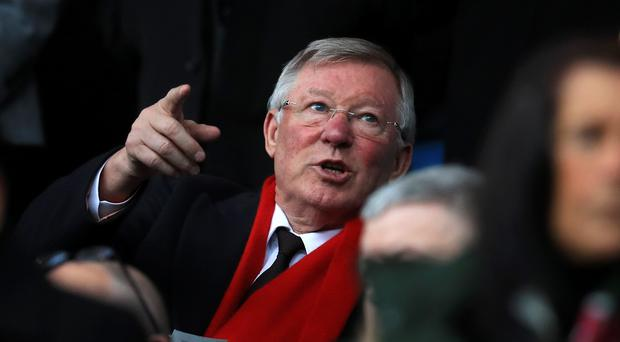 Sir Alex Ferguson (Mike Egerton/PA)