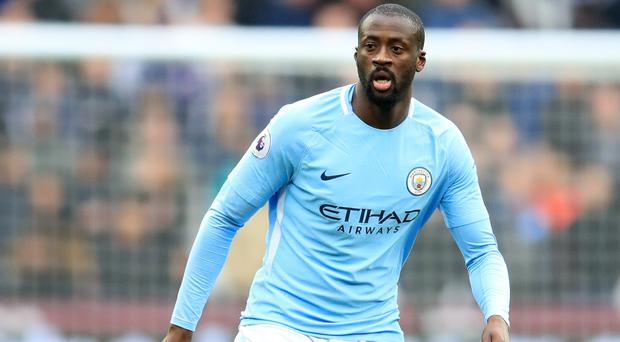 Yaya Toure will make his final home appearance for Manchester City on Wednesday