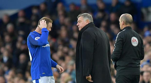 Everton manager Sam Allardyce will not stand in Wayne Rooney's way if he wants to leave