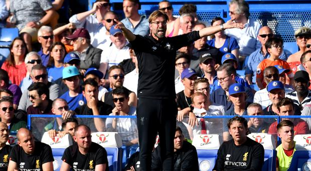 Liverpool manager Jurgen Klopp has asked for one more push from his players to secure a top-four spot.