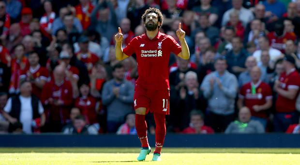 Mohamed Salah has scored the most goals in a 38-game Premier League season