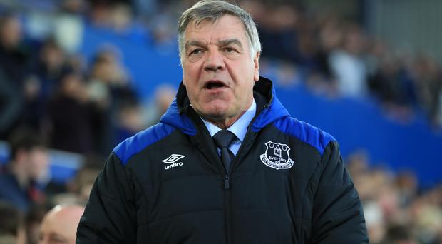 Sam Allardyce's spell as Everton manager is over.